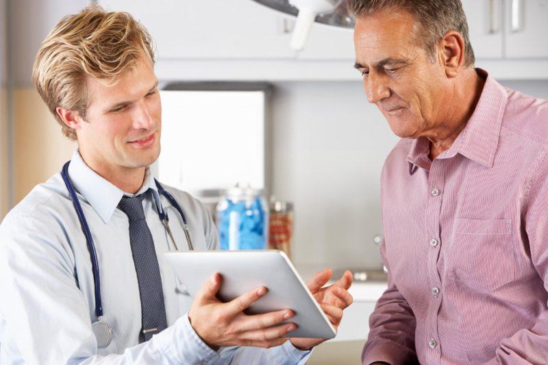 Анализ назначают в качестве профилактики мужчинам старше 40 лет