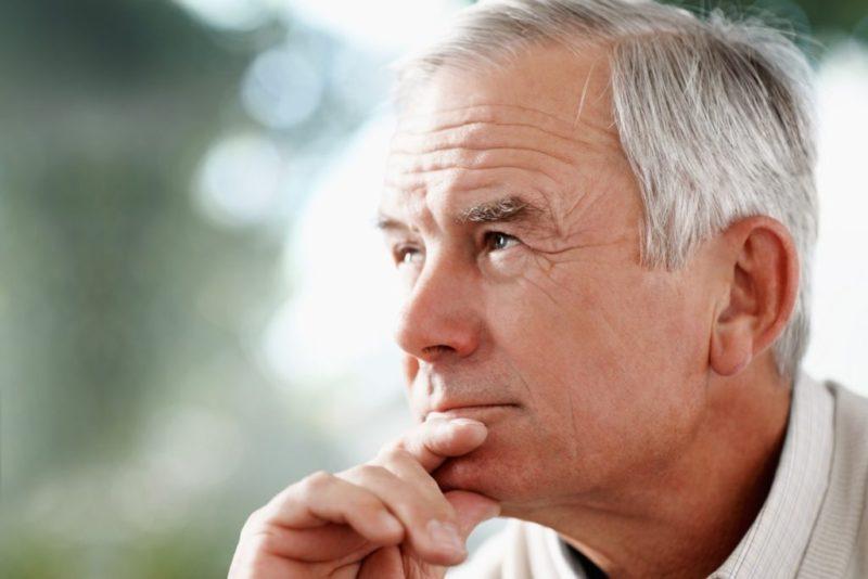 Показан при хроническом простатите у зрелых мужчин