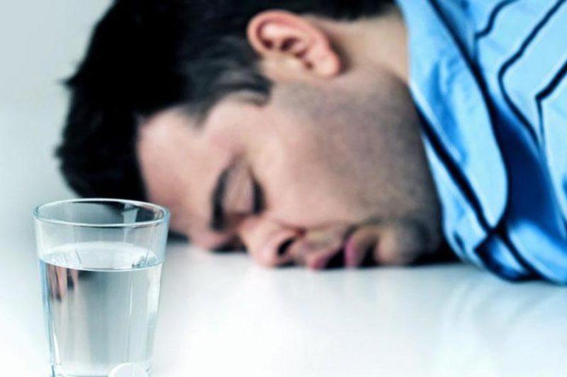 За неделю до процедуры необходимо исключить употребление спиртных напитков