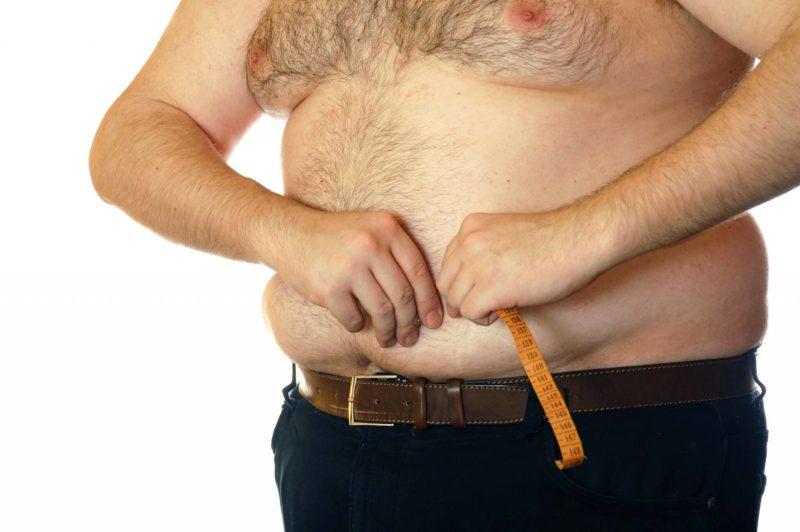 Лишний вес губит мужскую силу
