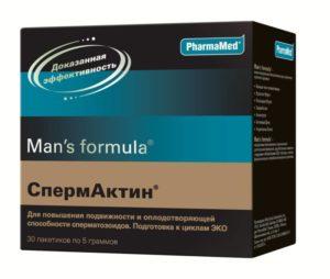 Препарат Спермактин: состав и инструкция по применению