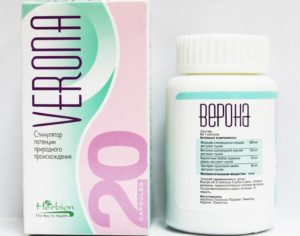 Препарат Верона - таблетки для мужчин