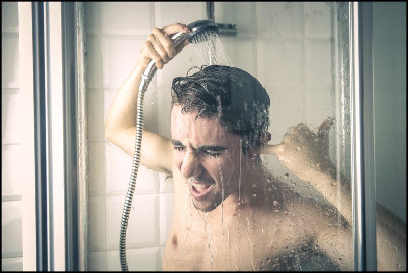 Пульс изменится, даже если просто принять душ