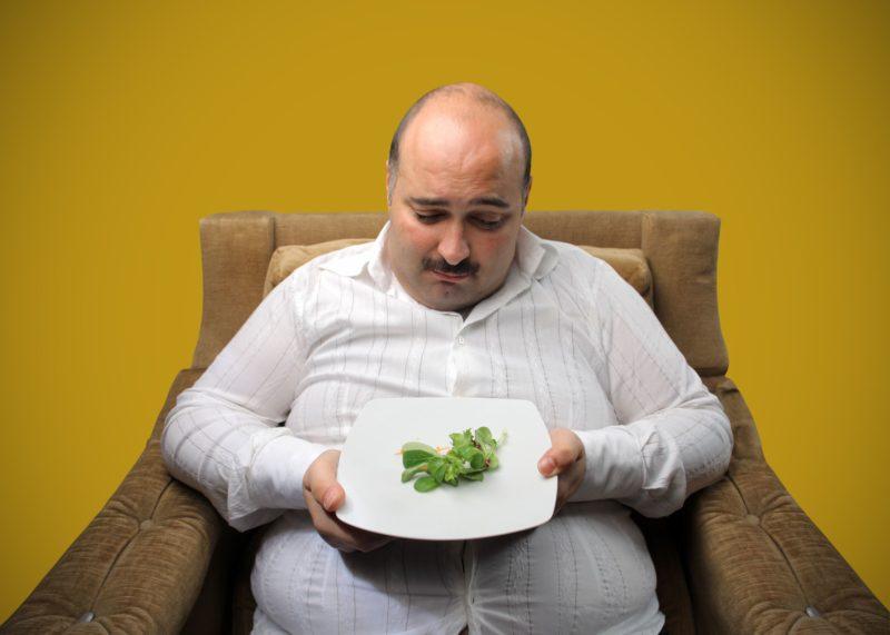 К резкому сбросу веса ведет нарушение питания