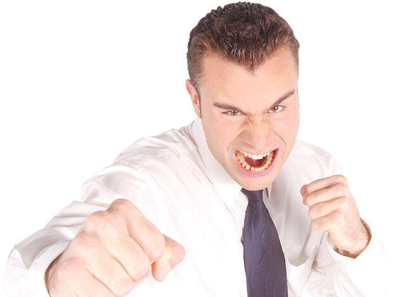 Немотивированный приступ гнева