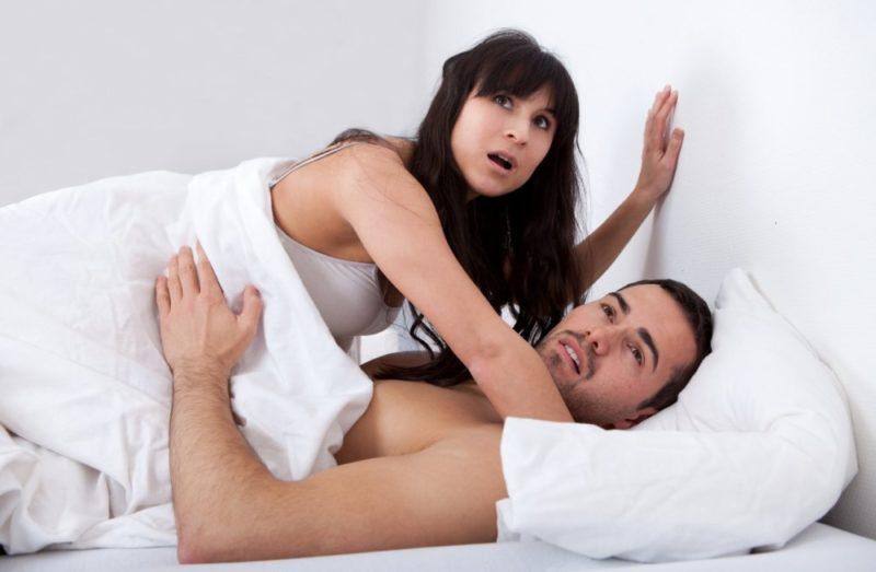 Частая смена партнерш ослабляет струю