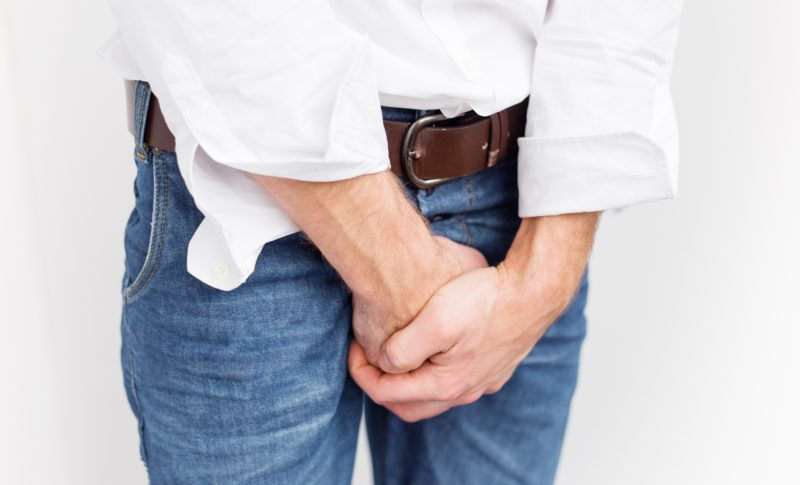 Раздражение и зуд между ног в паху у мужчин