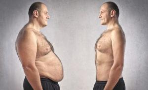Индекса массы тела мужчины