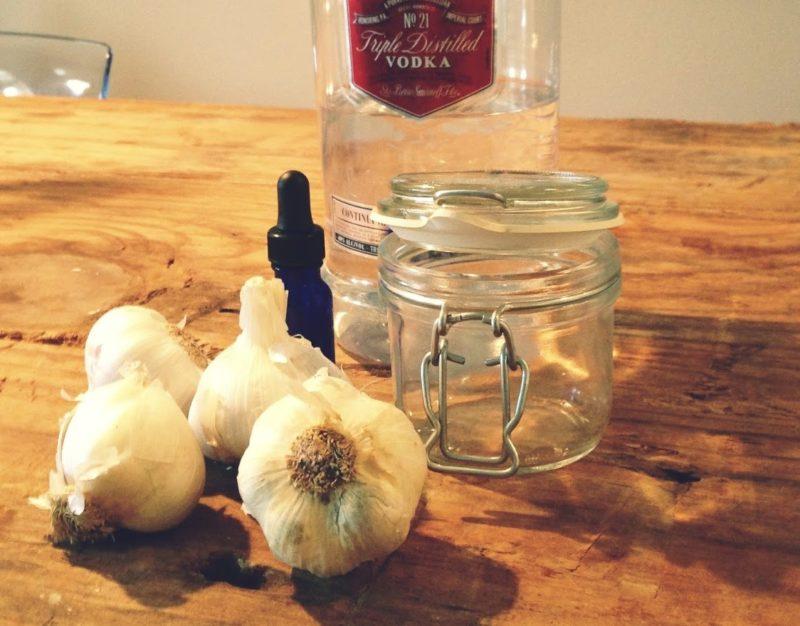 Приготовление настойки чеснока на водке