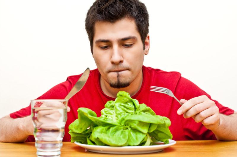 Важная роль отводится диете