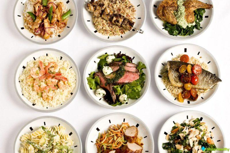 Продукты различаются по пищевой ценности